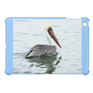 Pelican Birds Wildlife Animals Beach Ocean iPad Mini Covers