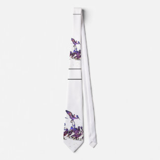 Pelican Birds Wildlife Animals Beach Ocean Neck Tie