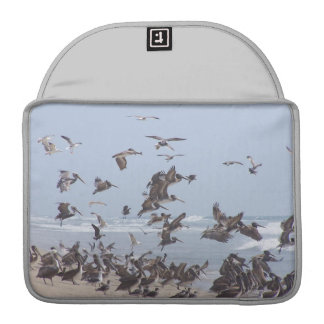 Pelican Birds Wildlife Animals Beach Sleeve For MacBook Pro