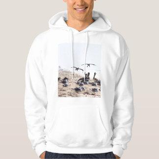 Pelican Birds Wildlife Animals Hoodie