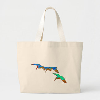 Pelican Birds Wildlife Animals Large Tote Bag