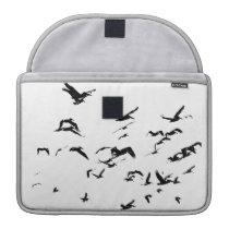 Pelican Birds Wildlife Animals Ocean MacBook Pro Sleeve
