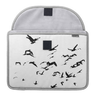 Pelican Birds Wildlife Animals Ocean MacBook Pro Sleeve