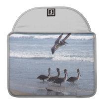 Pelican Birds Wildlife Animals Ocean Sleeve For MacBook Pro