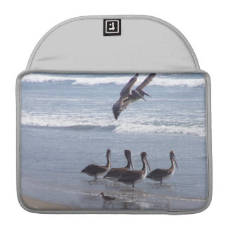 Pelican Birds Wildlife Animals Ocean Sleeve For MacBook Pro