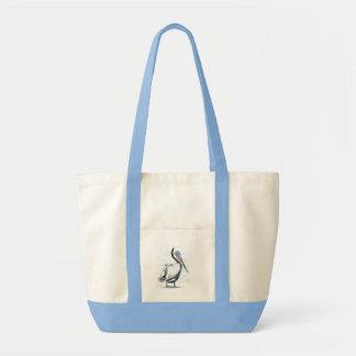 Pelican Birds Wildlife Animals Tote Bag