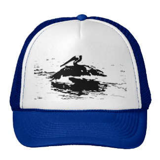 Pelican Birds Wildlife Animals Trucker Hat