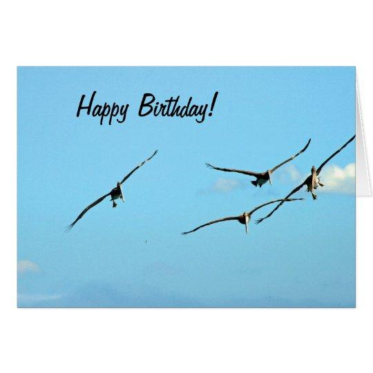 Pelican Birthday 1 Card