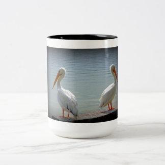 Pelican Buddies Two-Tone Coffee Mug