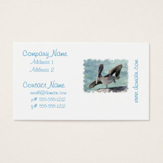 Pelican Business Cards