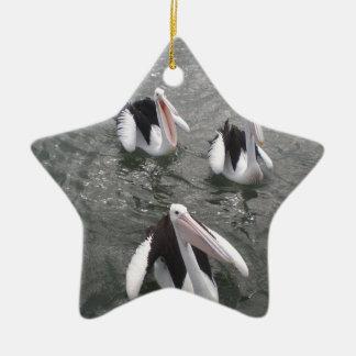 Pelican Ceramic Ornament