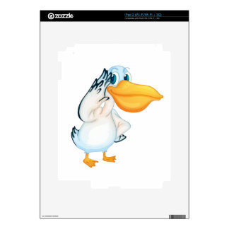 Pelican character decals for the iPad 2