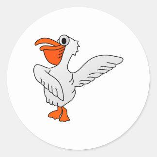 Pelican Classic Round Sticker