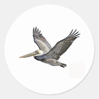 Pelican Clear Classic Round Sticker