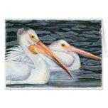Pelican Couple Card