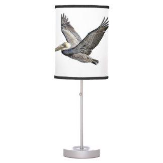 Pelican Flying Lampshade Table Lamp