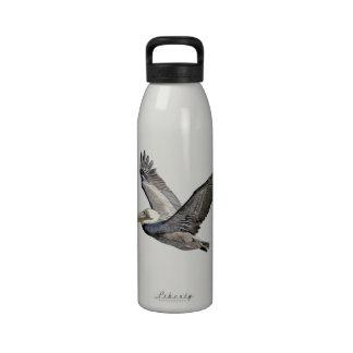 Pelican Flying Water Bottle