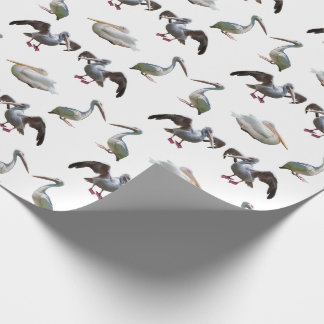 Pelican Frenzy Wrapping Paper