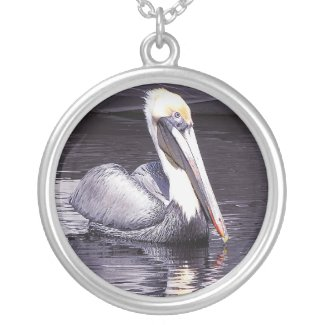 Pelican Gliding Along Pendants