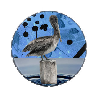 PELICAN IN BRIEF (Art design 3) ~ Jelly Belly Tin