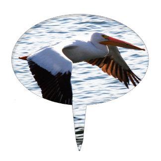 Pelican in Flight Cake Picks