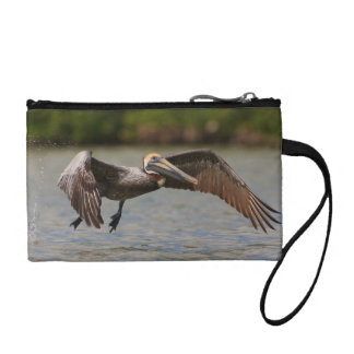 Pelican in Flight Coin Purse