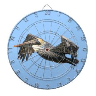 Pelican in Flight Dartboard
