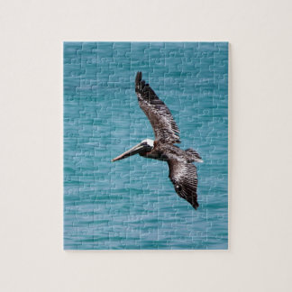Pelican in flight puzzle