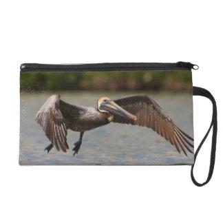 Pelican in Flight Wristlet