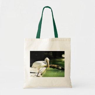 Pelican in Spain Tote Bag