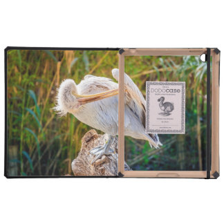 Pelican In Sunset Photography iPad Cover