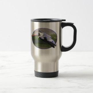 Pelican Landing 15 Oz Stainless Steel Travel Mug