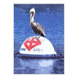 "Pelican Lifeguard 5"" X 7"" Invitation Card"