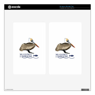 Pelican Marina Kindle Fire Skins
