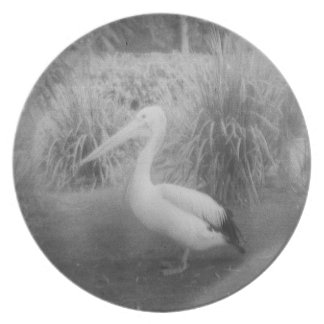 pelican melamine plate