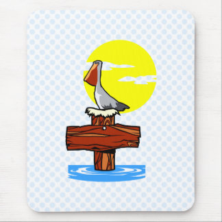 Pelican Mouse Pad