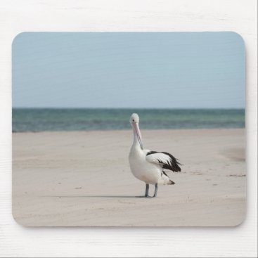 Beach Themed Pelican Mouse Pad Australia