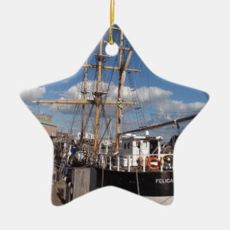 Pelican Of London In Weymouth Ceramic Ornament