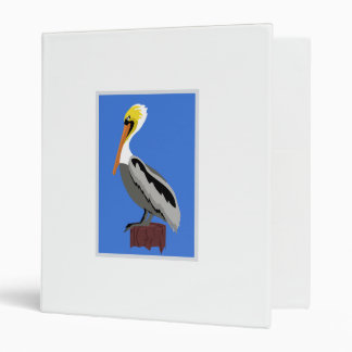 Pelican on a Piling Binder