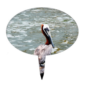 Pelican On A Pole Cake Pick