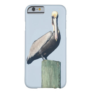 Pelican On Dock Pole Barely There iPhone 6 Case
