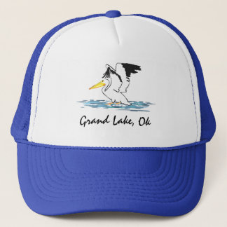 Pelican on Grand Lake hat