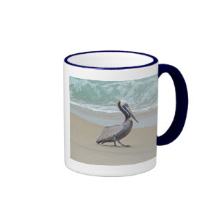 Pelican on Outer Banks OBX NC Mug