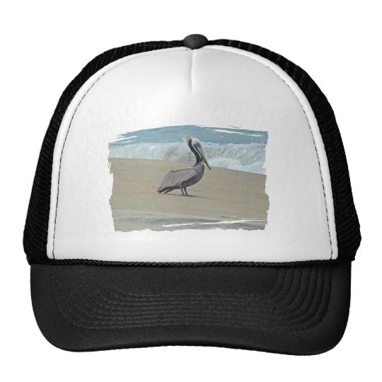 Pelican on Outer Banks OBX NC Trucker Hat