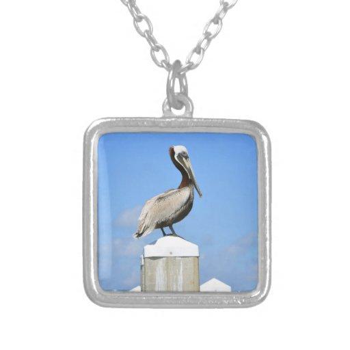Pelican on Perch Pendant