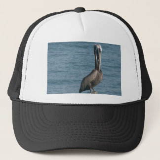 Pelican on Piling Trucker Hat
