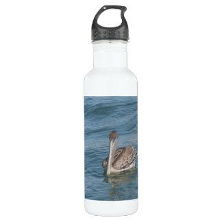 Pelican on the Inter-Coastal 24oz Water Bottle