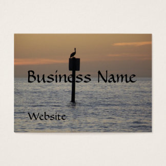 Pelican On the Ocean Business Card