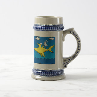 Pelican Pains Beer Stein