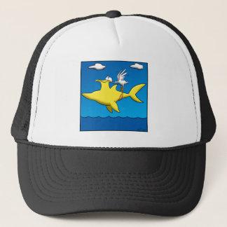 Pelican pains trucker hat